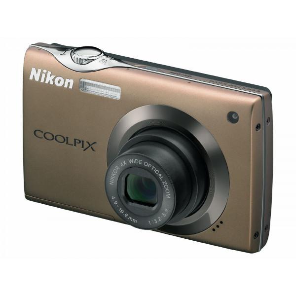Nikon Coolpix S4000 Digitalkamera (12 Megapixel, 4-fach Weitwinkelzoom, 7,5 mcm (3 Zoll) Touchscreen) bronze-36