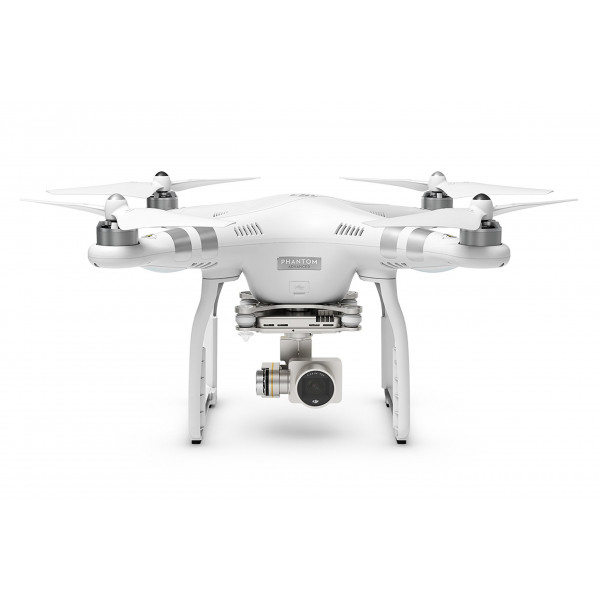 DJI Phantom 3 Advanced UAV Aerial Quadrocopter Drohne mit Integrierter 1080p Full HD Kamera und Gimbal zur Bildstabilisierung Weiß/Silber-35