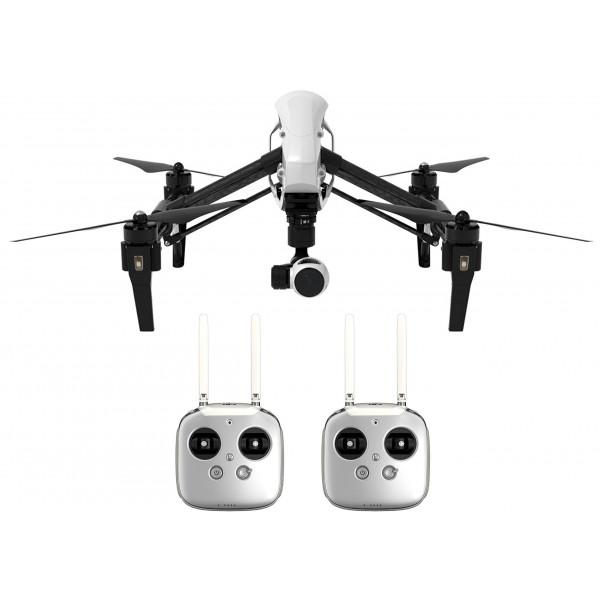 DJI DJIIN2R Inspire 1 Aerial UAV Quadrocopter Drohne mit Integrierter 4K, Full-HD Videokamera, 2x Digitalen Fernsteuerung schwarz/weiß-312