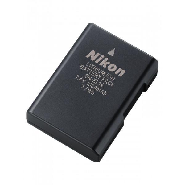 Nikon EN-EL14 Li-Ion Akku für D3100 / D5100 / P7000-31