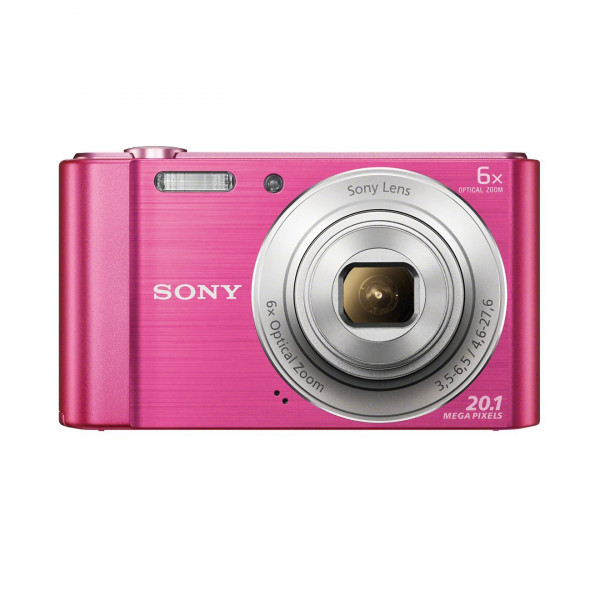 Sony DSC-W810 Digitalkamera (20,1 Megapixel, 6x optischer Zoom (12x digital), 6,8 cm (2,7 Zoll) LC-Display, 26mm Weitwinkelobjektiv, SteadyShot) pink-310