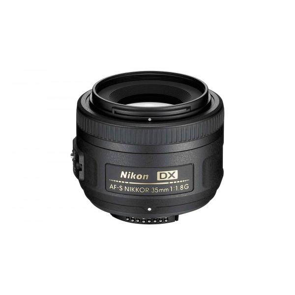 Nikon AF-S DX Nikkor 35mm 1:1,8G Objektiv (52mm Filtergewinde)-32