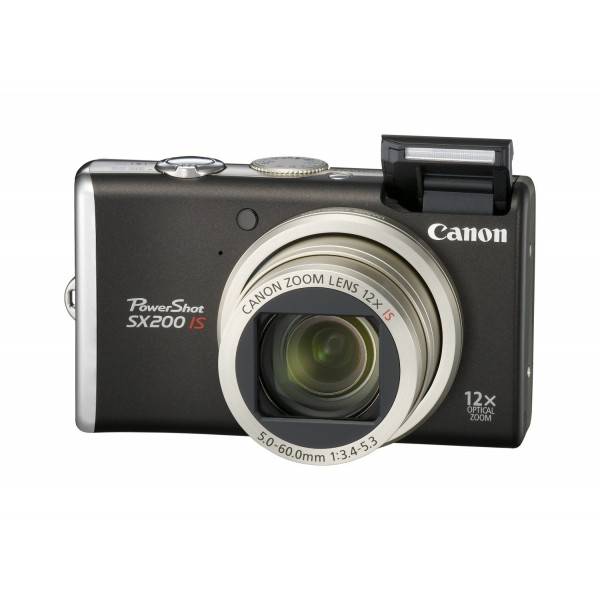 Canon PowerShot SX200 IS Digitalkamera (12 Megapixel, 12-fach opt. Zoom, 7,6 cm (3 Zoll) Display) black-38