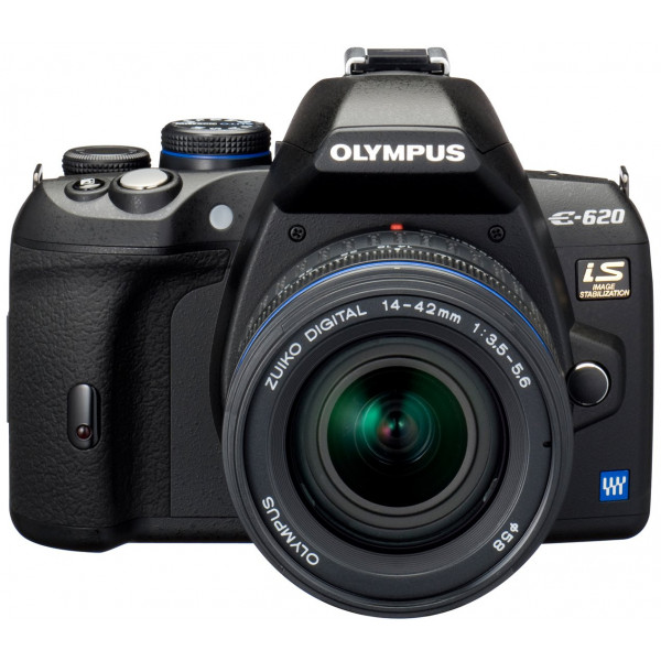 Olympus E-620 SLR-Digitalkamera (12,3 Megapixel, Bildstabilisator, Live View, Art Filter) Kit inkl. 14-42mm and 40-150mm Objektive-38