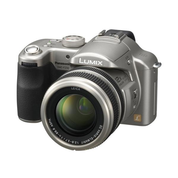 Panasonic Lumix DMC-FZ50 EG S Digitalkamera (10 Megapixel, 12-fach opt. Zoom, 5,1 cm (2 Zoll) Display, Bildstabilisator) silber-36