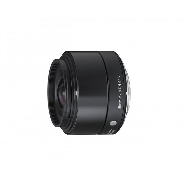 Sigma 19mm f2,8 DN Objektiv (Filtergewinde 46mm) für Micro Four Thirds Objektivbajonett schwarz-38