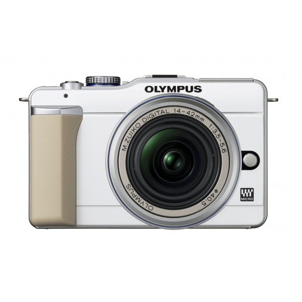 Olympus PEN E-PL1 Systemkamera (13 Megapixel, 6,9 cm (2,7 Zoll) Display, Bildstabilisator) Gehäuse weiß-34