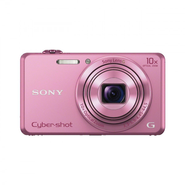 Sony DSC-WX220 Digitalkamera (18 Megapixel, 10-fach opt. Zoom, 6,8 cm (2,7 Zoll) LCD-Display, NFC, WiFi) pink-311