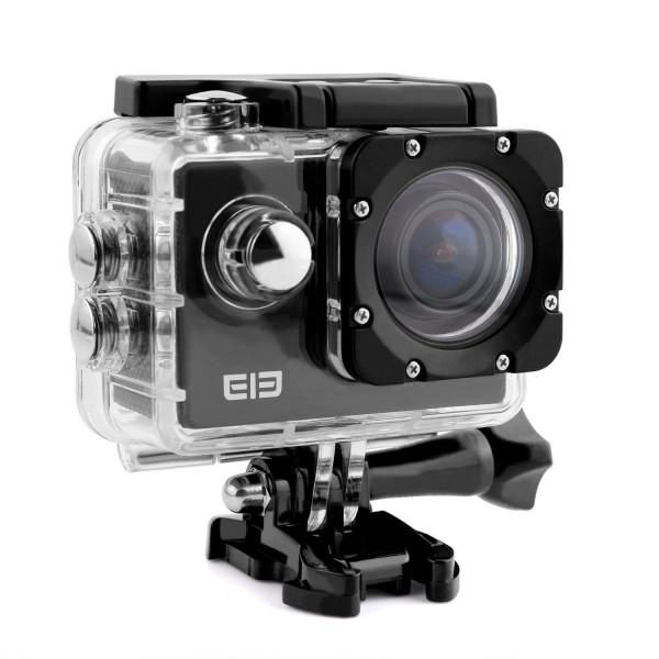 ELE CAM Explorer WiFi Sport Outdoor-Action Video Kamera Wasserdichte 16MP 4K 1080P 64GB 170 ° Weitwinkel Camcorder Car DVR für Motorrad Fahrrad mit Halterung 2,0-Zoll-LCD-38