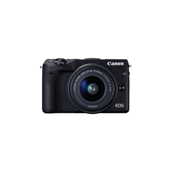 Canon EOS M3 Systemkamera (24 Megapixel APS-C CMOS-Sensor, WiFi, NFC, Full-HD) Kit inkl. EF-M 15-45 mm 1:3,5-6,3 IS STM Objektiv schwarz-34