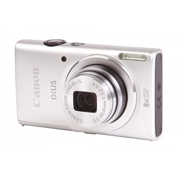 Canon IXUS 140 Digitalkamera (16 Megapixel, 8-fach opt. Zoom, 7,6 cm (3 Zoll) Display, bildstabilisiert, DIGIC 4 mit iSAPS) silber-310