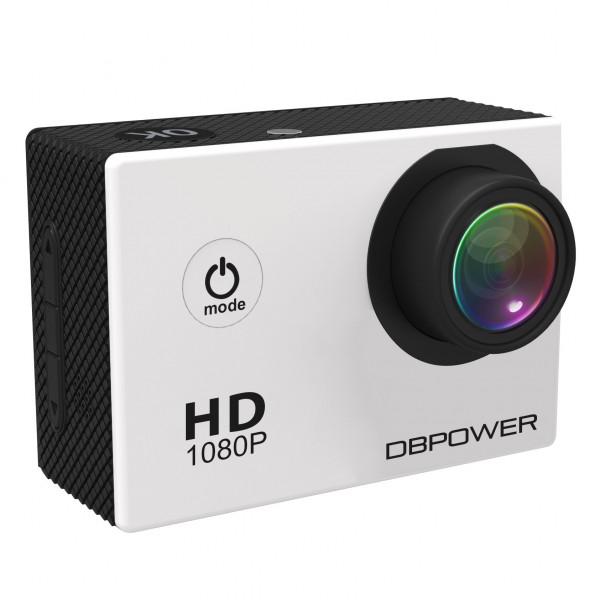 DBPOWER HD 1080P Action Kamera wasserdicht mit 2 verbesserten Batterien und Kostenlosen Zubehor Kits (Weiss)-36