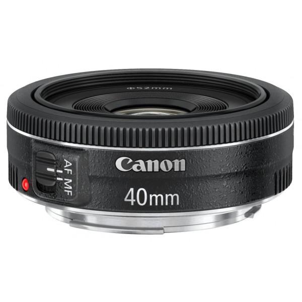 Canon EF 40mm 1:2,8 STM Objektiv (52mm Filtergewinde) schwarz-36