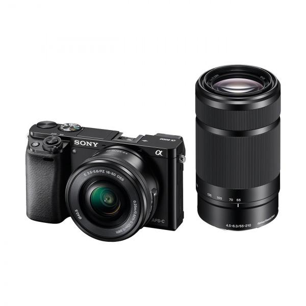 "Sony Alpha 6000 Systemkamera (24 Megapixel, 7,6 cm (3"") LCD-Display, Exmor APS-C Sensor, Full-HD, High Speed Hybrid AF) inkl. SEL-P1650 und SEL-55210 Objektiv schwarz-321"