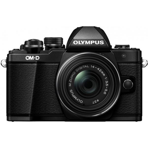 Olympus OM-D E-M10 Mark II Systemkamera (16 Megapixel, 5-Achsen VCM BildsTabilisator, elektronischer Sucher mit 2,36 Mio. OLED, Full-HD, WLAN, Metallgehäuse) Kit inkl. 14-42mm II R Objektiv schwarz-35