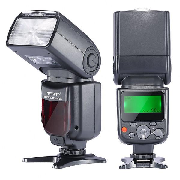 Neewer® NW670 (zweite Generation von VK750II) E-TTL-Flash Blitz Blitzgerät für Canon EOS 700D 650D 600D 1100D 550D 500D 100D 6D, Rebel T3 T5i T4i T3i T2i T1i SL1, 1Ds Mark III, 1Ds Mark II, 5D Mark III, 5D Mark II, 1D Mark IV, 1D Mark III und alle anderen-38