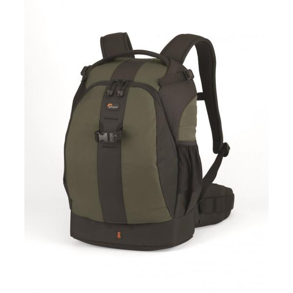 Lowepro Flipside 400 AW SLR-Kamerarucksack (für SLR mit aufgesetztem 300-mm-Objektiv und bis zu 6 zusätzlichen Objektiven) tannengrün-38