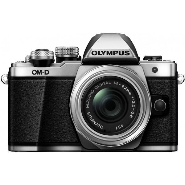 Olympus OM-D E-M10 Mark II Systemkamera (16 Megapixel, 5-Achsen VCM BildsTabilisator, elektronischer Sucher mit 2,36 Mio. OLED, Full-HD, WLAN, Metallgehäuse) Kit inkl. 14-42mm II R Objektiv silber-34