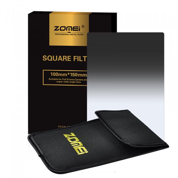 "Zomei ND8 Platz Allmähliche Grau Farbe Objektiv-Filter 100x150mm für Cokin Z Zomei Hitech 4X6 ""Holder 150 * 100 mm-37"