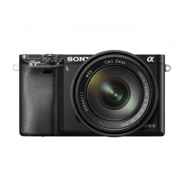 "Sony Alpha 6000 Systemkamera (24 Megapixel, 7,6 cm (3"") LCD-Display, Exmor APS-C Sensor, Full-HD, High Speed Hybrid AF) inkl. SEL-1670Z Objektiv schwarz-323"