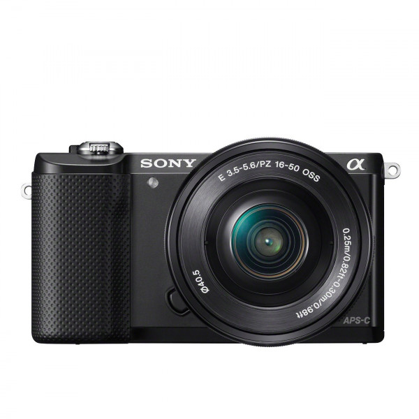 Sony Alpha 5000 Systemkamera (Full HD, 20 Megapixel, Exmor APS-C HD CMOS Sensor, 7,6 cm (3 Zoll) Schwenkdisplay) schwarz inkl. SEL-P1650 Objektiv-329