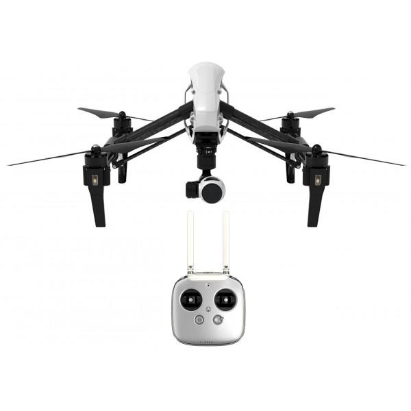 DJI DJIIN1R Inspire 1 Aerial UAV Quadrocopter Drohne mit Integrierter 4K, Full-HD Videokamera, Digitaler Fernsteuerung schwarz/weiß-311