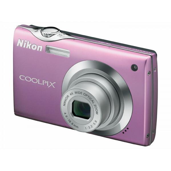 Nikon Coolpix S4000 Digitalkamera (12,0 Megapixel, 4-fach Weitwinkelzoom, 7,5cm (3,0-Zoll) Touchscreen) pink-36