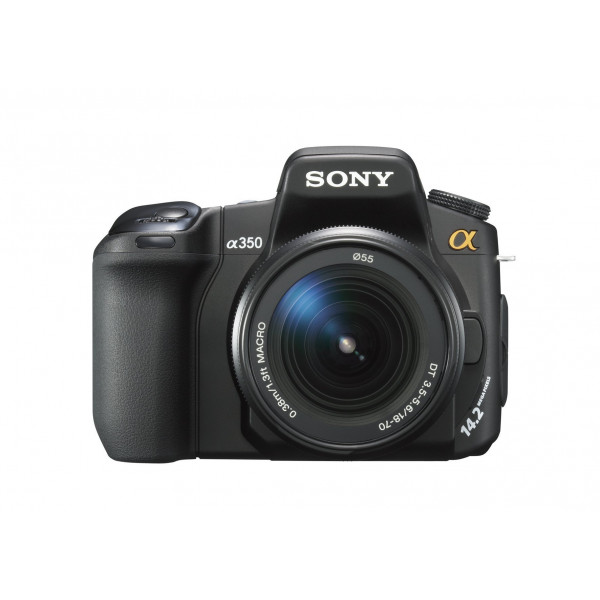 Sony A 350 K SLR-Digitalkamera (14 Megapixel, LifeView, Bildstabilisator) Kit inkl. 18-70mm Objektiv-31