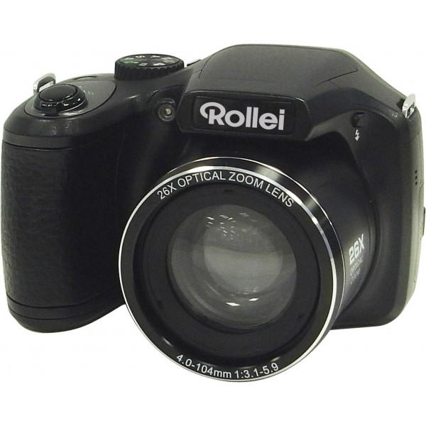 Rollei Powerflex 260 Full HD Bridge Kamera (Digitalkamera mit 26-fach Superzoom, 16 Megapixel, Full HD Videoauflösung) Schwarz-39