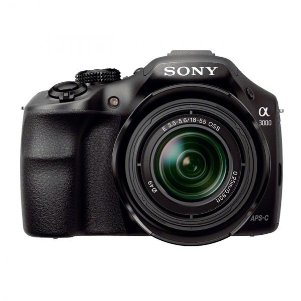 Sony ILCE3000KB a3000 E-Mount Systemkamera im SLR Gehäuse (20 Megapixel, Exmor APS-C CMOS Sensor, 7,6 cm (3 Zoll) LCD-Display, Live View, Full HD Video) inkl. E 18-55mm OSS Objektiv schwarz-319