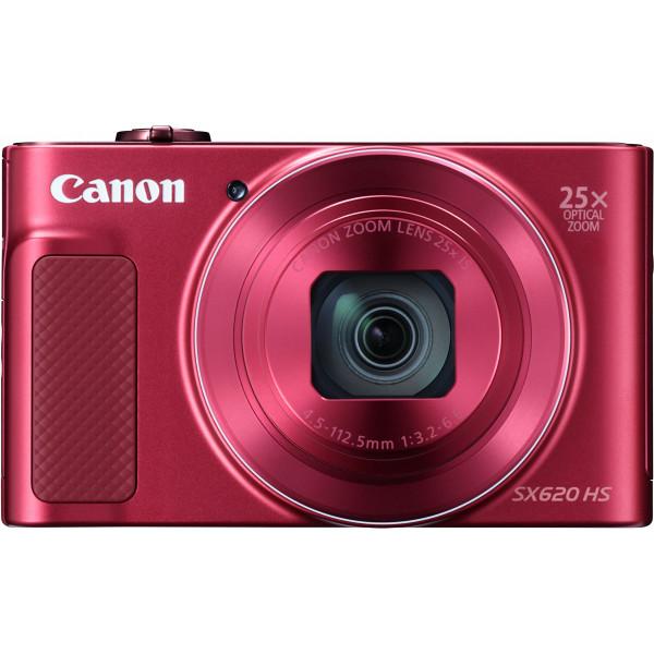Canon PowerShot SX620 HS Digitalkamera (20,2 Megapixel, 25-fach optischer Zoom, 50-fach ZoomPlus, 7,5cm (3 Zoll) Display, opt Bildstabilisator, WLAN, NFC) rot-36