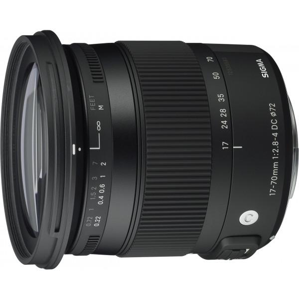 Sigma 17-70 mm f2,8-4,0 Objektiv (DC, Makro, OS, HSM, 72 mm Filtergewinde) für Canon Objektivbajonett-38