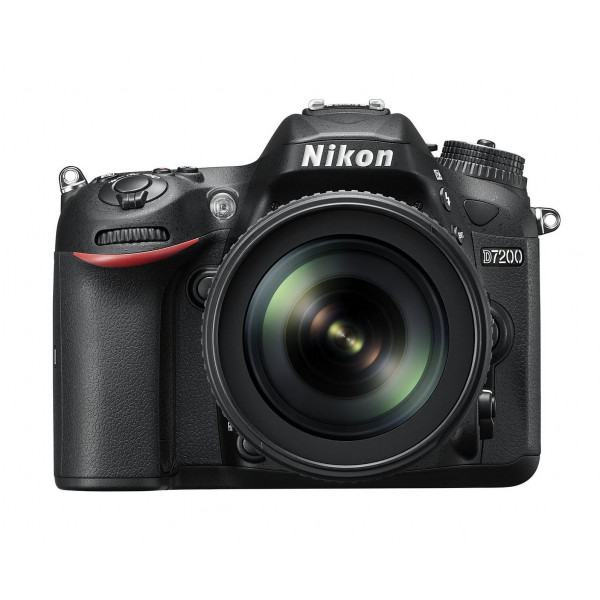 Nikon D7200 SLR-Digitalkamera (24 Megapixel, 8 cm (3,2 Zoll) LCD-Display, Wi-Fi, NFC, Full-HD-Video) Kit inkl. AF-S DX Nikkor 18-105 mm 1:3,5-5,6G ED VR Objektiv-39