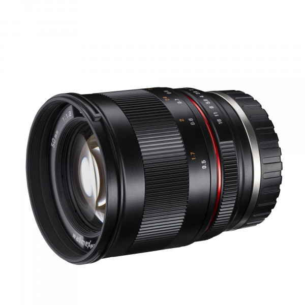 Walimex Pro 21145 50/1,2 CSC Objektiv für MFT Bajonett-34