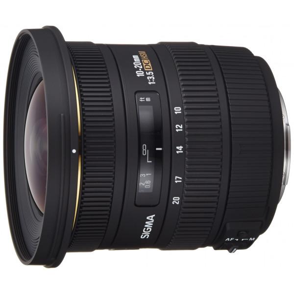Sigma 10-20 mm F3,5 EX DC HSM-Objektiv (82 mm Filtergewinde) für Sony/Minolta Objektivbajonett-34