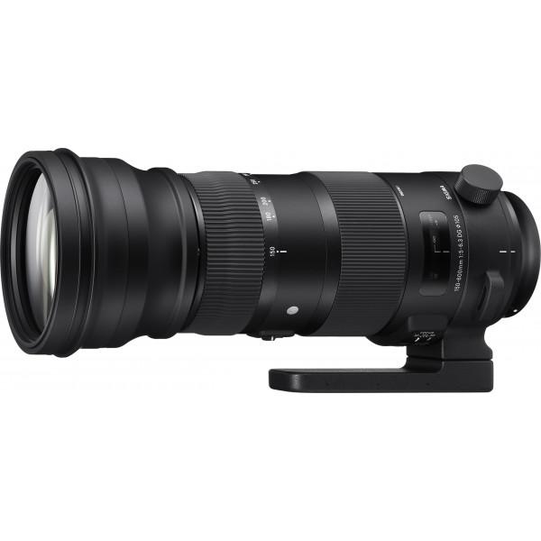 Sigma 150-600/5,0-6,3 DG OS HSM Sports Objektiv (Filtergewinde 105mm) für Canon Objektivbajonett schwarz-37