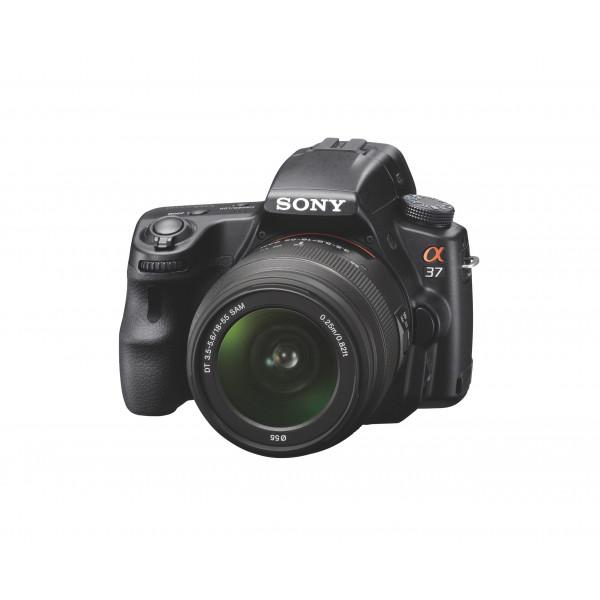 Sony SLT-A37K SLR-Digitalkamera (16 Megapixel, 6,7 cm (2,7 Zoll) Display, Full-HD, 3D Panorama) Inkl. SAM 18-55mm Zoom-Objektiv schwarz-310