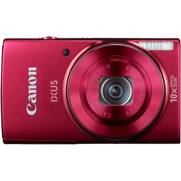 Canon IXUS 155 Digitalkamera (20 Megapixel, 10-fach opt. Zoom, 6,8 cm (2,6 Zoll) LCD-Display, HD-Ready) rot-310