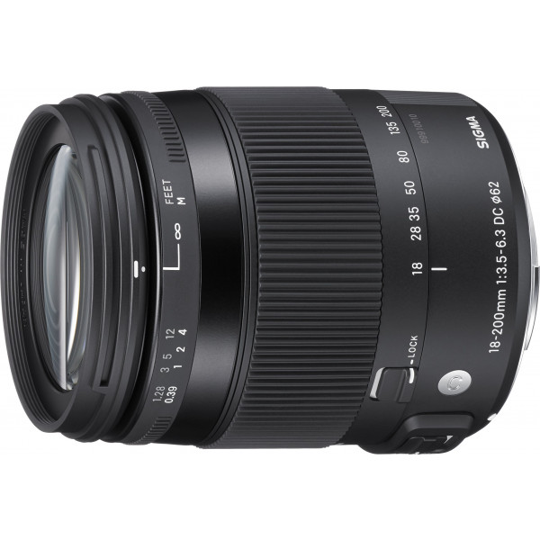 Sigma 18-200mm F3,5-6,3 DC Makro HSM Objektiv (Filtergewinde 62mm) für Sony Objektivbajonett-37