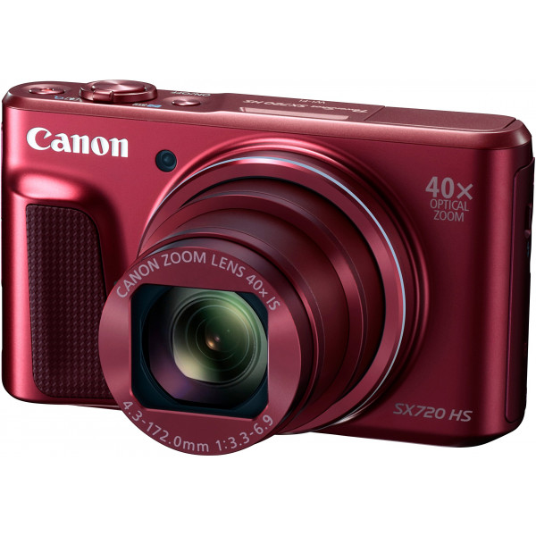 Canon PowerShot SX720 HS Digitalkamera (20,3 Megapixel CMOS-Sensor, 7,5 cm (3 Zoll) LCD-Display, 40 x Zoom, Full HD, WLAN) rot-35