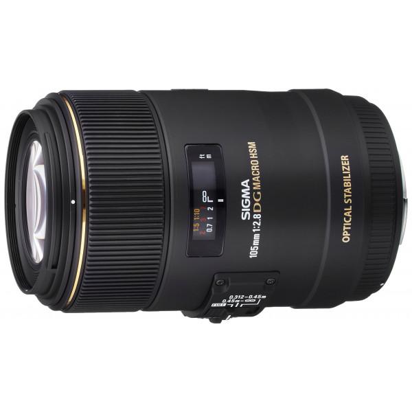 Sigma 105 mm F2,8 EX Makro DG OS HSM-Objektiv (62 mm Filtergewinde) für Sigma Objektivbajonett-35