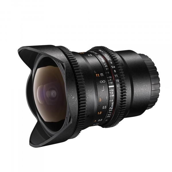 Walimex Pro 12mm f/3,1 Fish-Eye Objektiv DCSC für Canon EOS M Bajonett schwarz-34