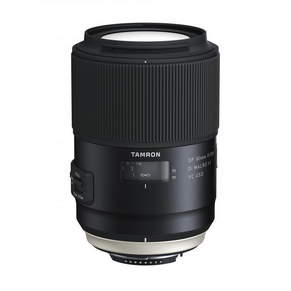 Tamron F017N SP 90mm F/2.8 Di Macro, 1:1 VC USD Nikon Kamera-Objektive-35