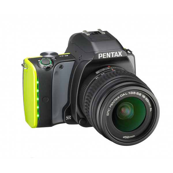Pentax K-S1 SLR-Digitalkamera (20 Megapixel, 7,6 cm (3 Zoll) TFT Farb-LCD-Display, ultrakompaktes Gehäuse, Anti-Moiré-Funktion, Full-HD-Video, Wi-Fi, HDMI) Kit inkl. DAL 18-55 Objektiv midnight black-32