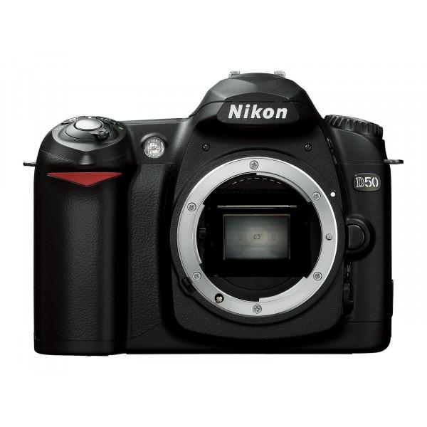 Nikon D50 SLR-Digitalkamera (6 Megapixel) Gehäuse schwarz-32
