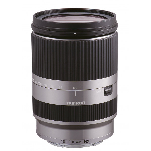 Tamron 18-200mm F/3.5-6.3 Di III VC Nex Objektiv für Sony NEX-Serie silber-37