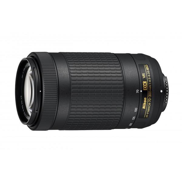 Nikon AF-P DX Nikkor 70-300 mm 1:4,5-6,3G ED VR, Vorderer Objektivdeckel mit Schnappverschluss LC-58 weiß/schwarz-33