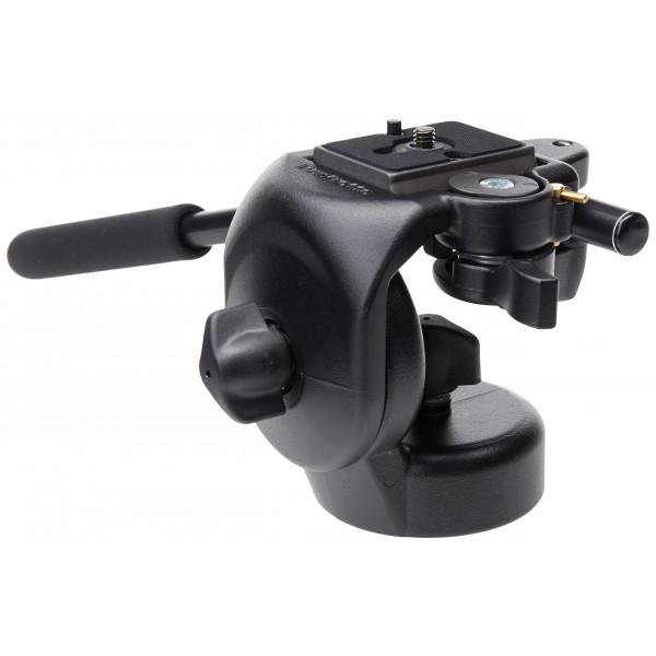Manfrotto 128RC Micro Fluid Video-Neiger mit Schnellwechselplatte 200Pl-14-34