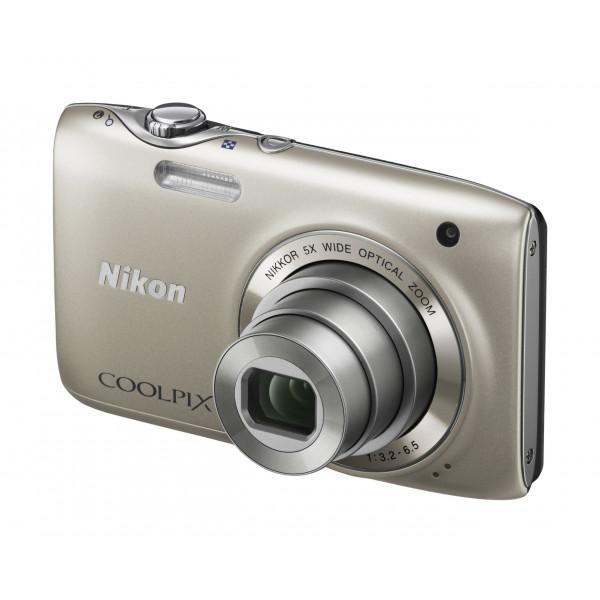 Nikon Coolpix S3100 Digitalkamera (14 Megapixel, 5-fach opt. Zoom, 6,7 cm (2,7 Zoll) Display, HD Video, bildstabilisiert) silber-35