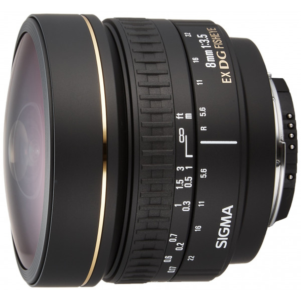 Sigma 8 mm F3,5 EX DG Zirkular Fisheye-Objektiv (Gelatinefilter) für Nikon Objektivbajonett-34